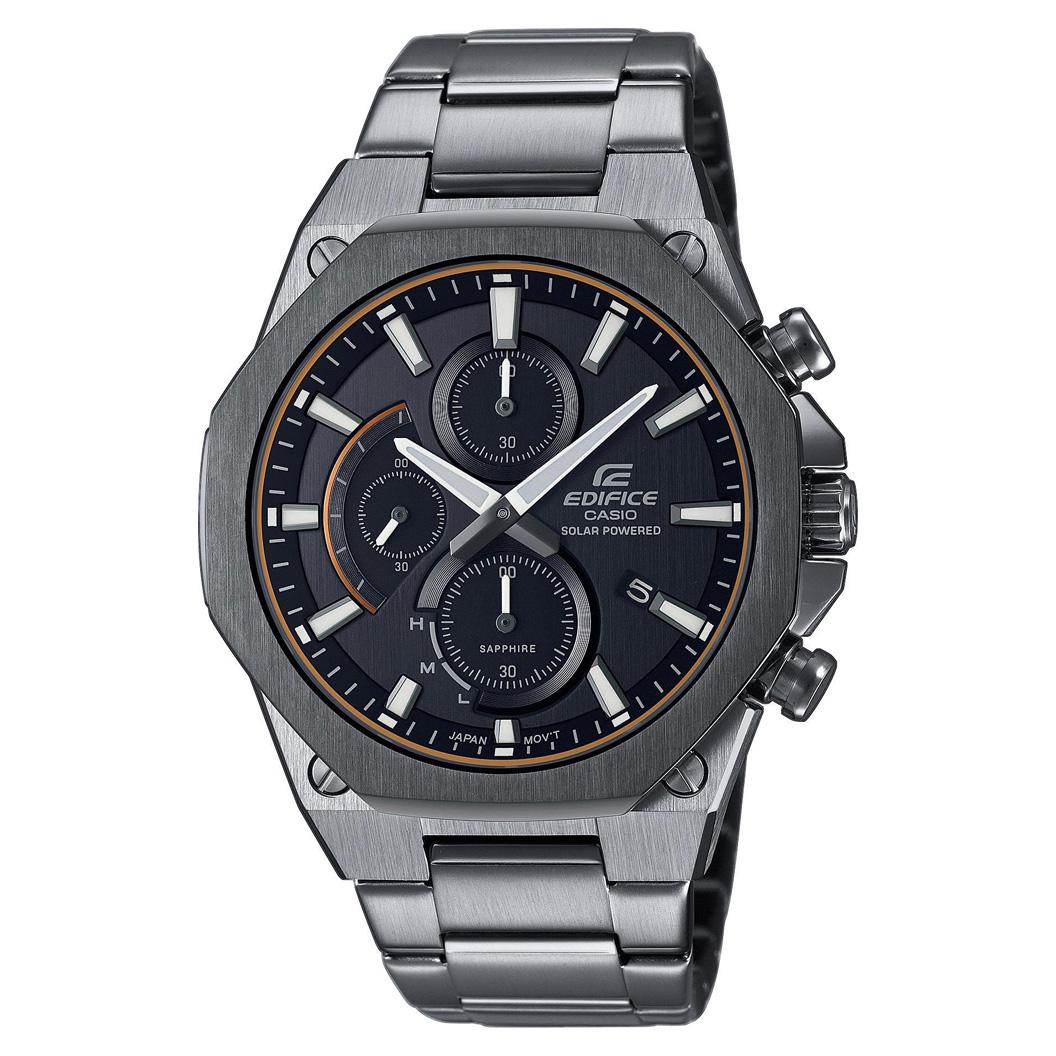 Casio Edifice EFS S570DC 1AUEF Horloge Chronograaf, Solar 44 mm