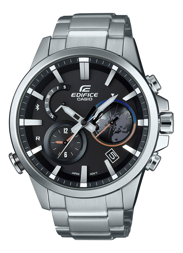 Casio Edifice Chronograaf, Solar & Bluetooth 4.0 EQB-600D-1AER