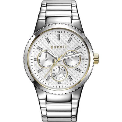 Esprit Time Dameshorloge 'Beckie Silver' ES108642001