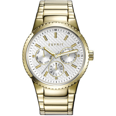 Esprit Time Dameshorloge 'Beckie Gold' ES108642002