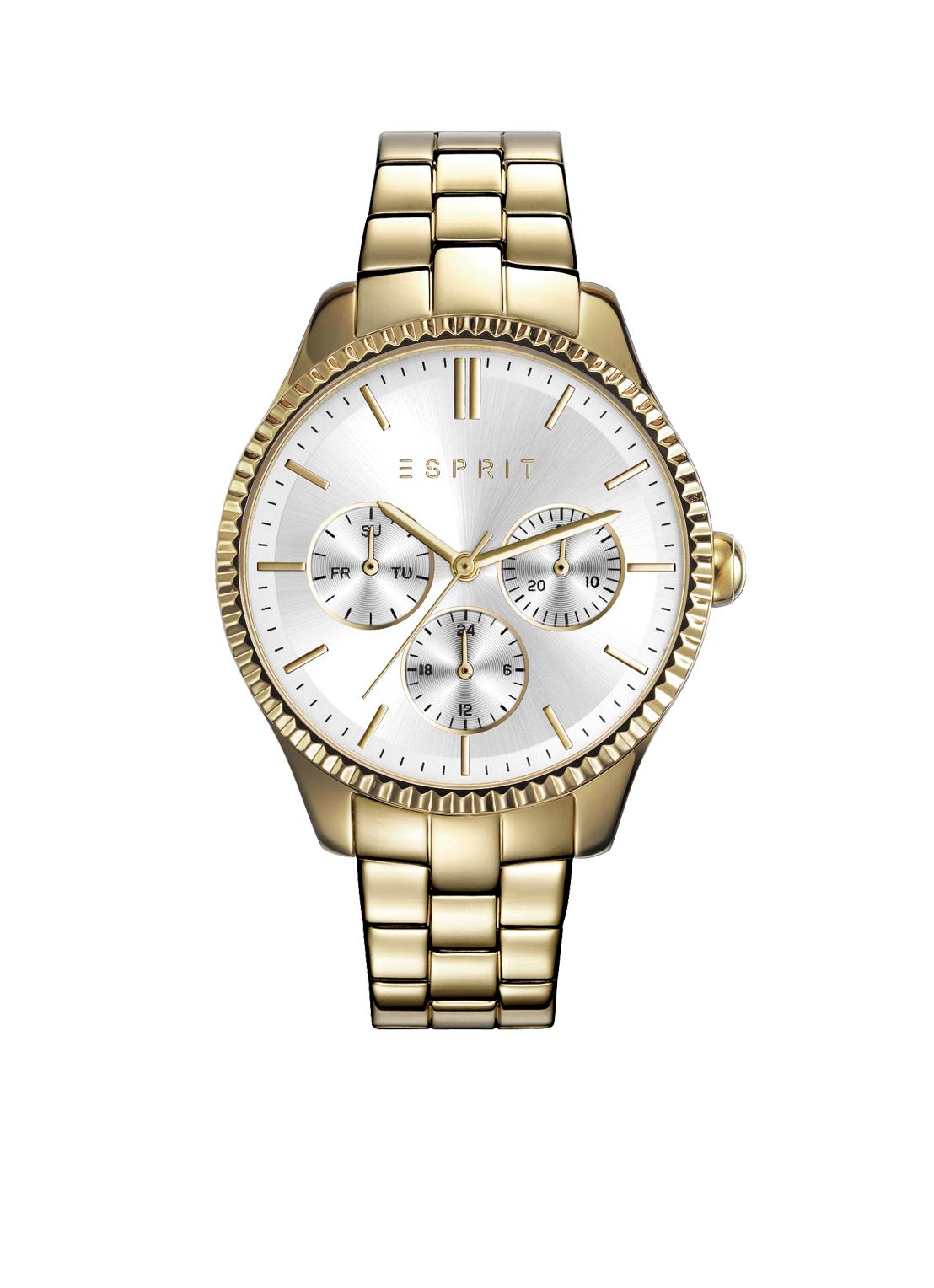 Esprit Time Dameshorloge Essentials Goldplated ES108942002