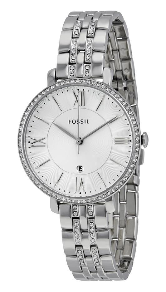 Fossil Jacqueline ES3545 - Horloge - 36 mm -  Staal - Zilverkleurig