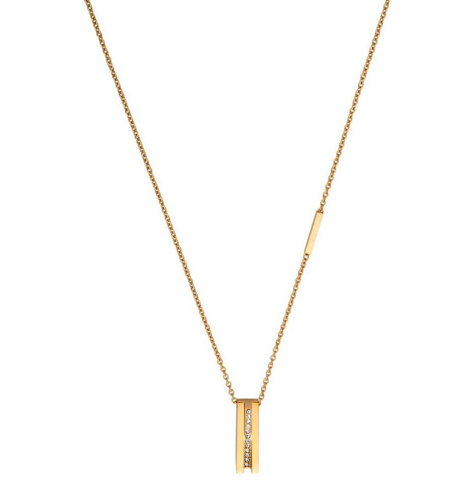 Esprit Ketting Luna staal goudkleurig 42-45 cm ESNL00182242