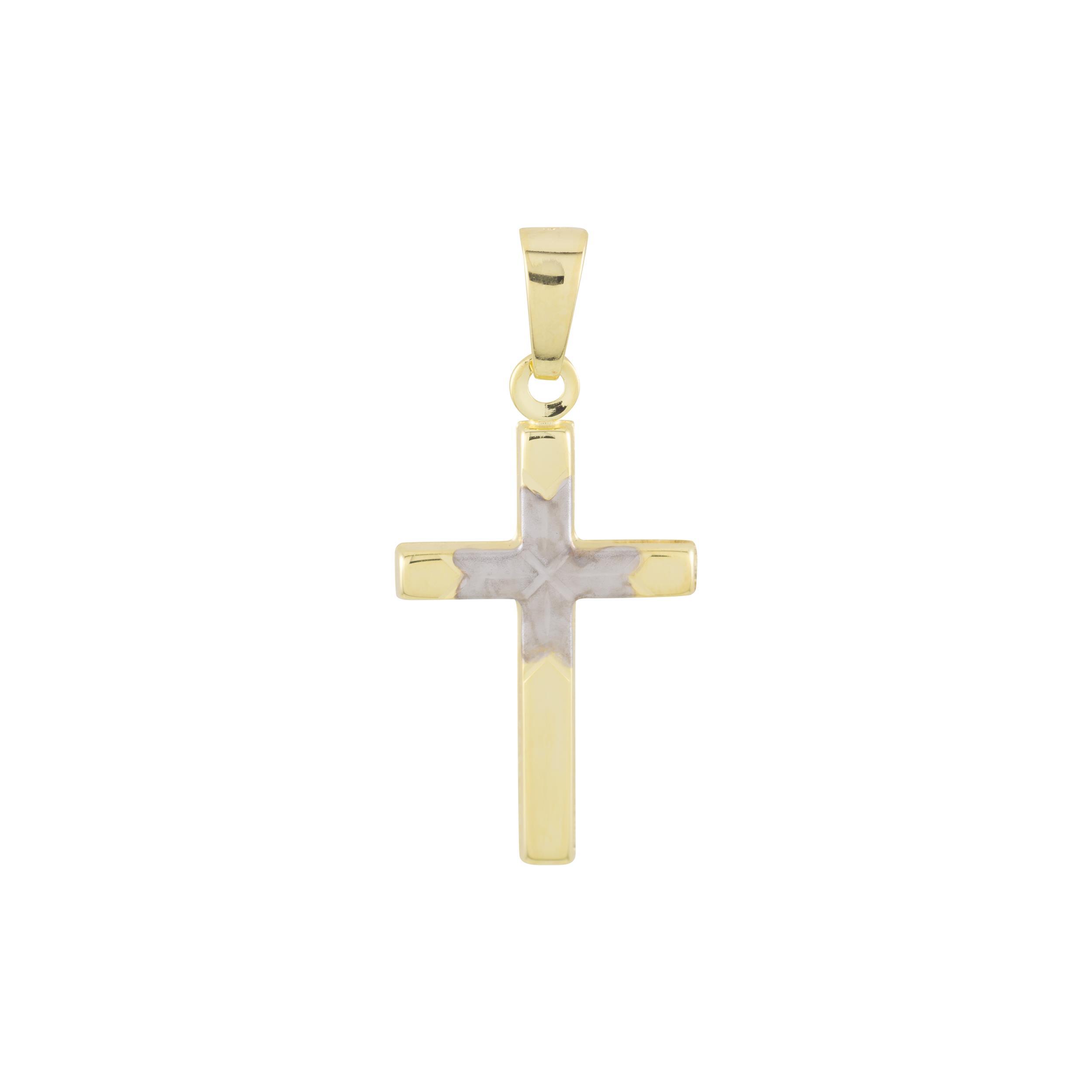 Gouden hanger Kruisje 26 x 12 mm 246.0139.00