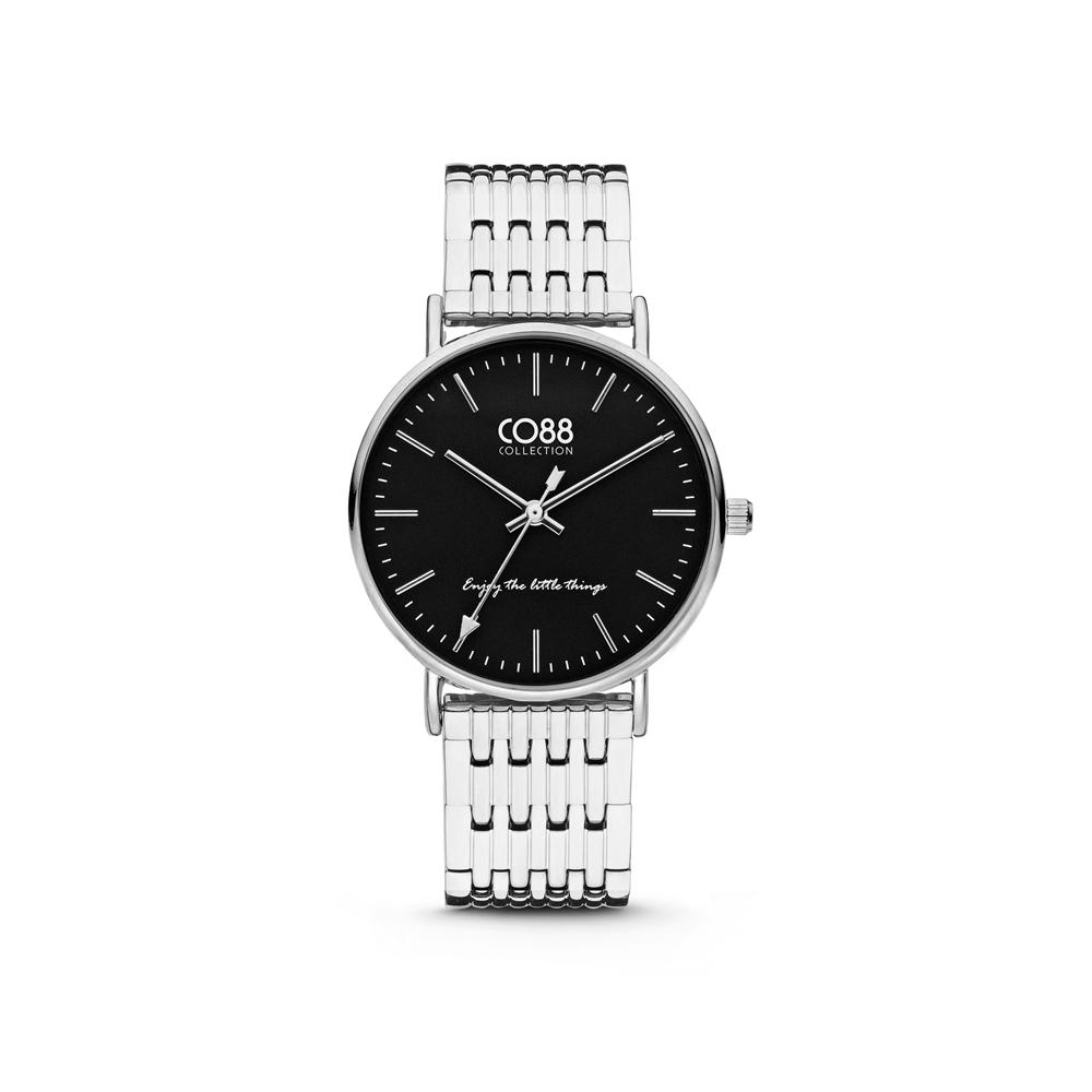 CO88 Collection 8CW 10072 Horloge - Stalen band - zilverkleurig - Ø 36 mm