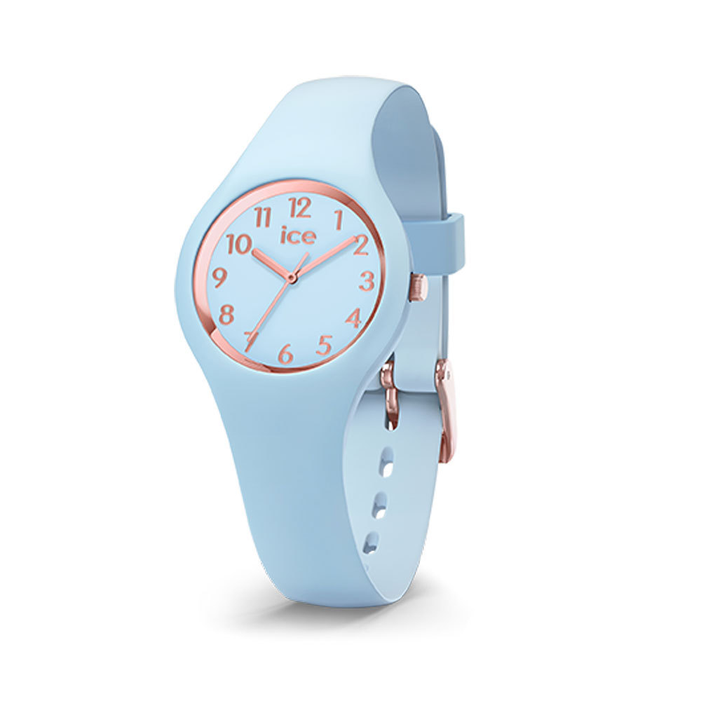 Ice-Watch IW015345 Ice Glam Pastel Lotus Numbers Extra small 28 mm horloge