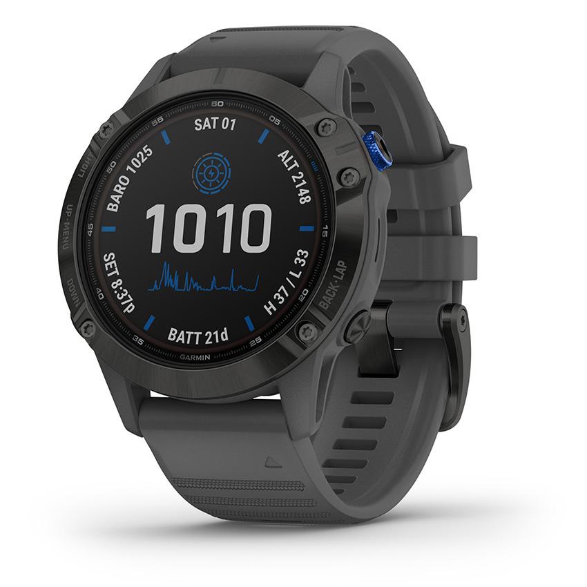 Garmin 010-02410-11 Fenix 6 Pro Solar Smartwatch 47 mm