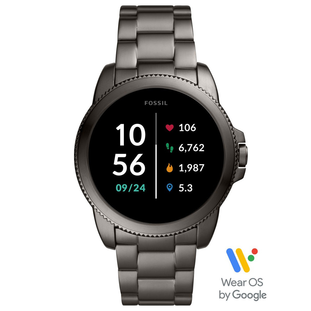 Fossil FTW4049 Gen. 5E Sport Smartwatch zwart 42 mm