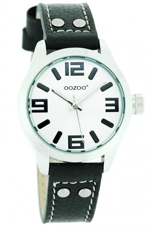 OOZOO Horloge Junior 34 mm zwart JR158
