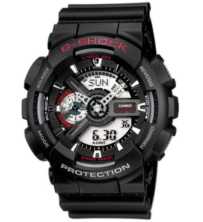 Casio G Shock Chronograaf Antimagnetisch GA 110 1AER