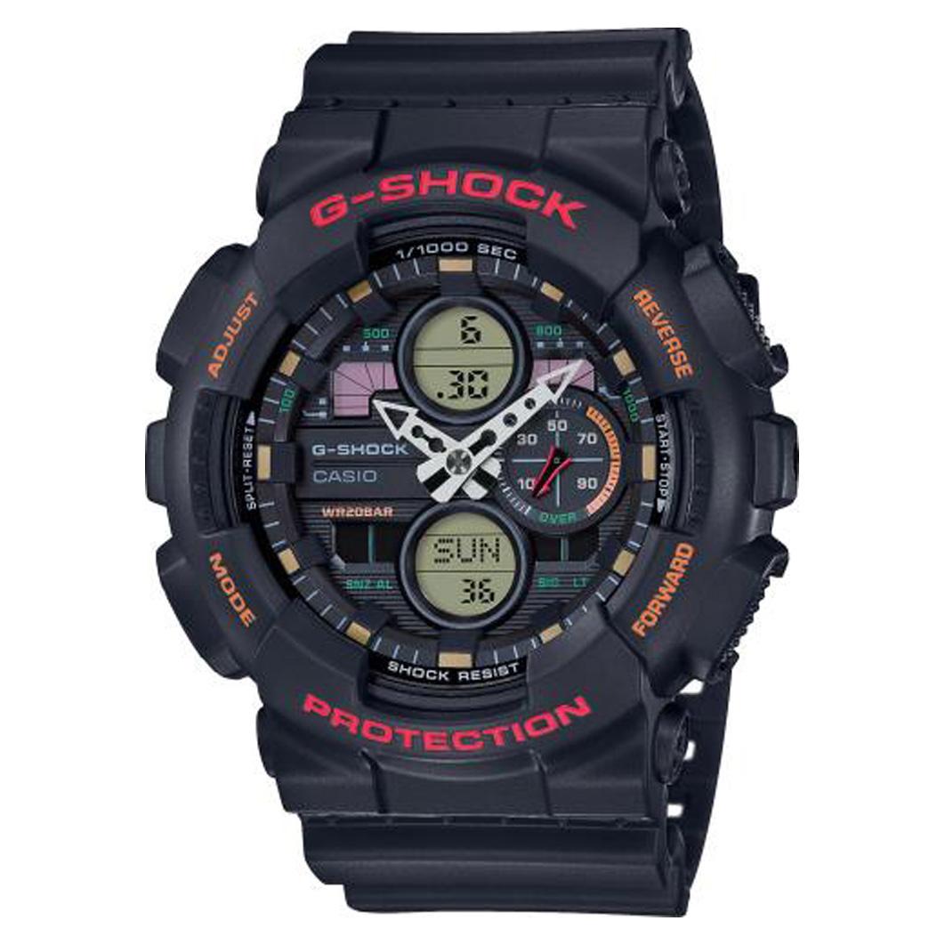 Casio GA 140 1A4ER Horloge G Shock Classic zwart 55 mm
