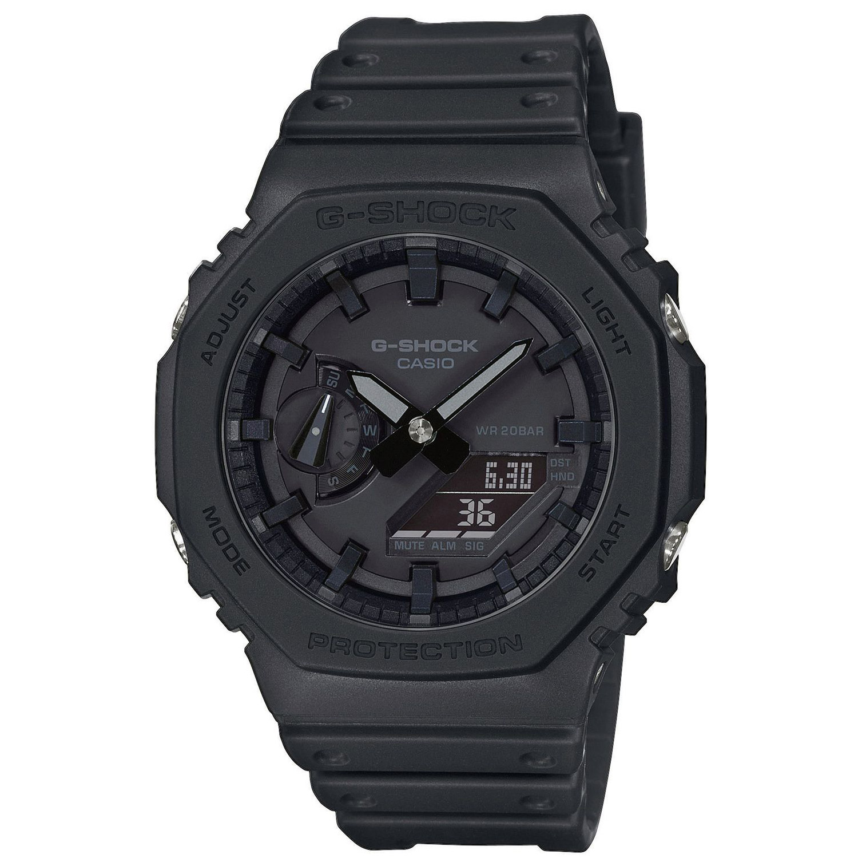 Casio G Shock GA 2100 1A1ER Horloge Classic zwart 45 mm