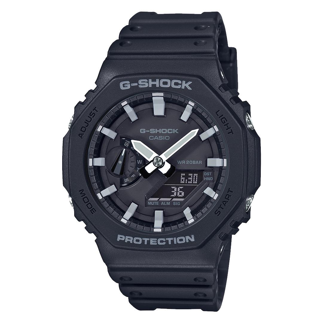 Casio G Shock GA 2100 1AER Horloge Classic zwart 45 mm