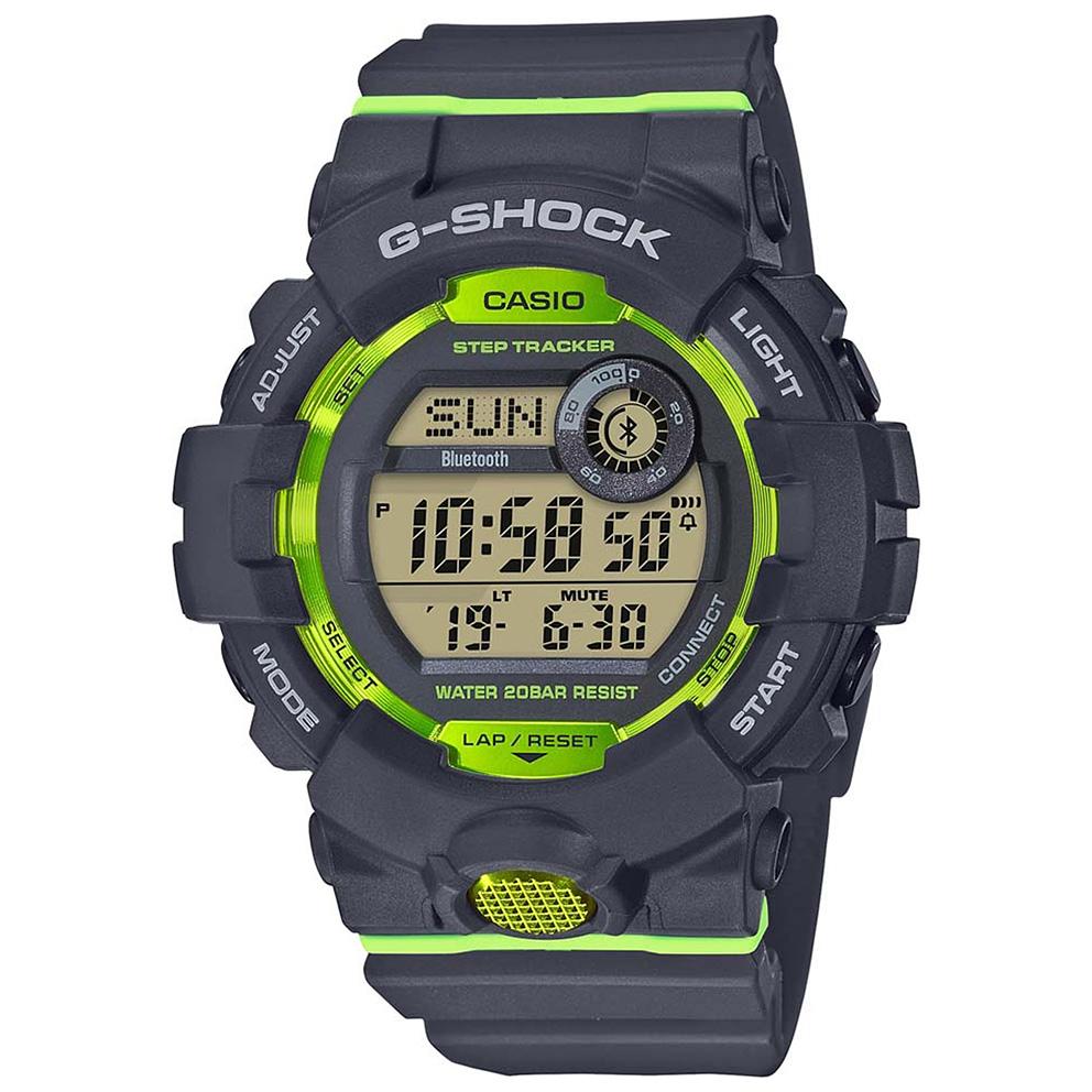 Casio G Shock GBD 800 8ER Bluetooth G Squad 48.6 mm