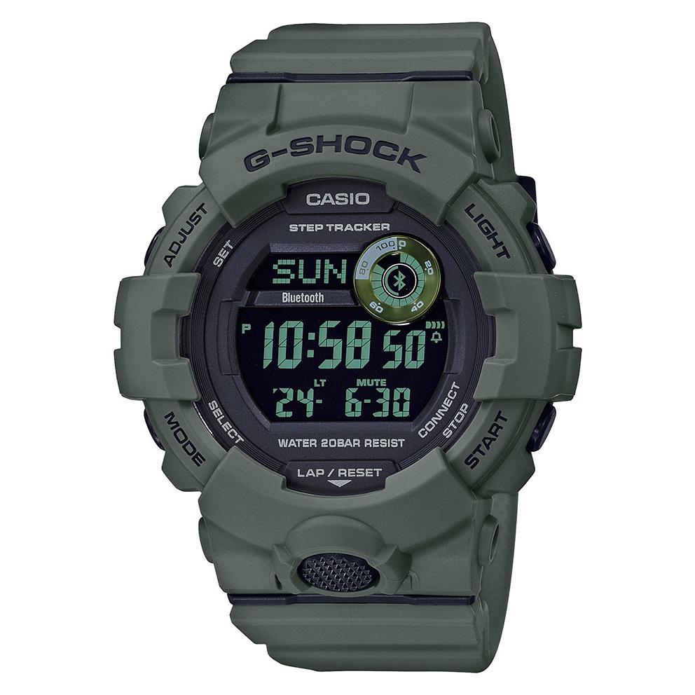 Casio G Shock GBD 800UC 3ER Bluetooth G Squad 48.6 mm