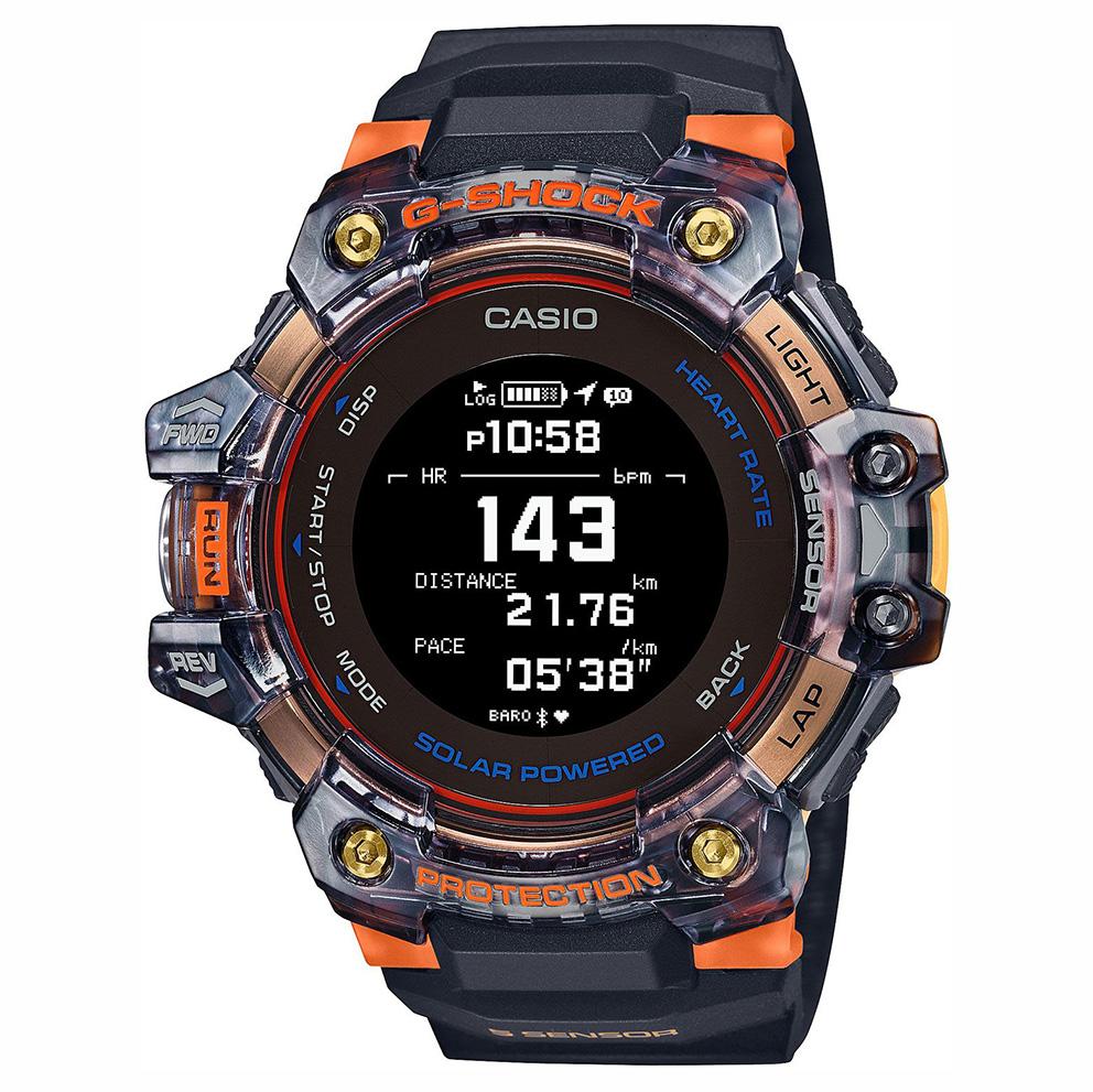 Casio GBD H1000 1A4ER Solar Smartwatch Hartslagsensor Quad Sensor