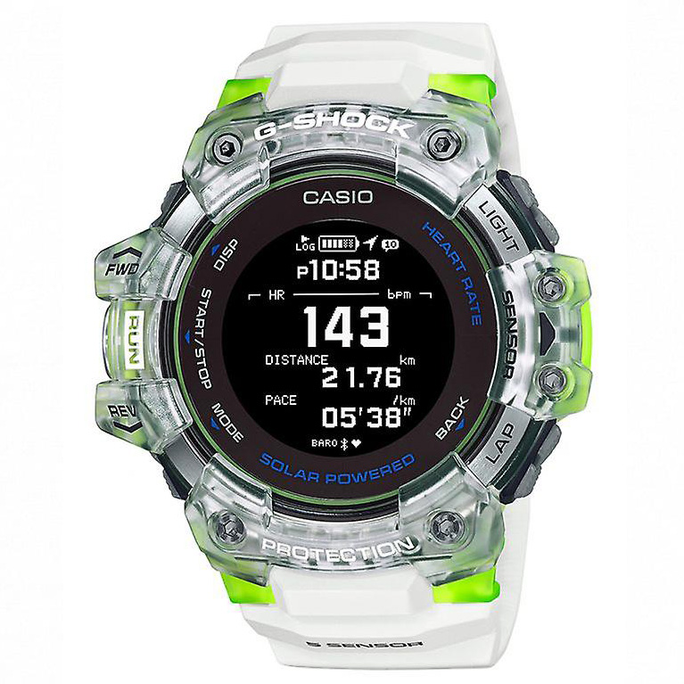 Casio GBD H1000 7A9ER Solar Smartwatch Hartslagsensor Quad Sensor