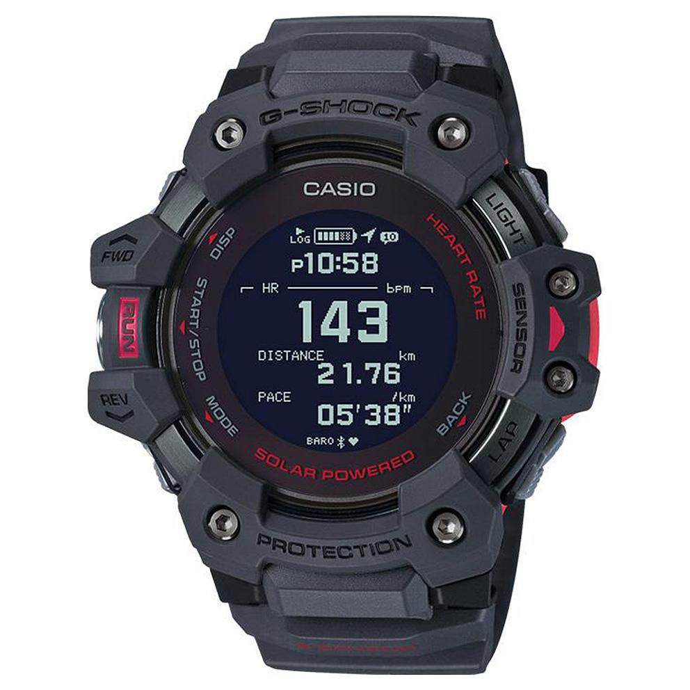 Casio GBD H1000 8ER Solar Smartwatch Hartslagsensor Quad Sensor