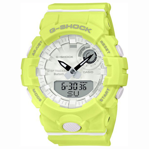 Casio G Shock GMA B800 9AER Bluetooth Steptracker 45 mm