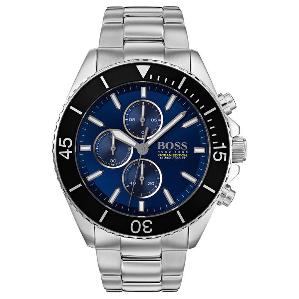 Hugo Boss HB1513704 Horloge Ocean chronograaf 46 mm