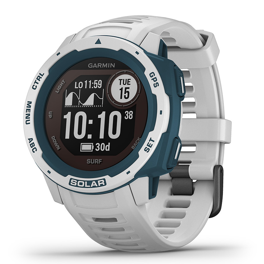 Garmin 010-02293-08 Instinct Smartwatch Solar Surf Cloudbreak 45 mm