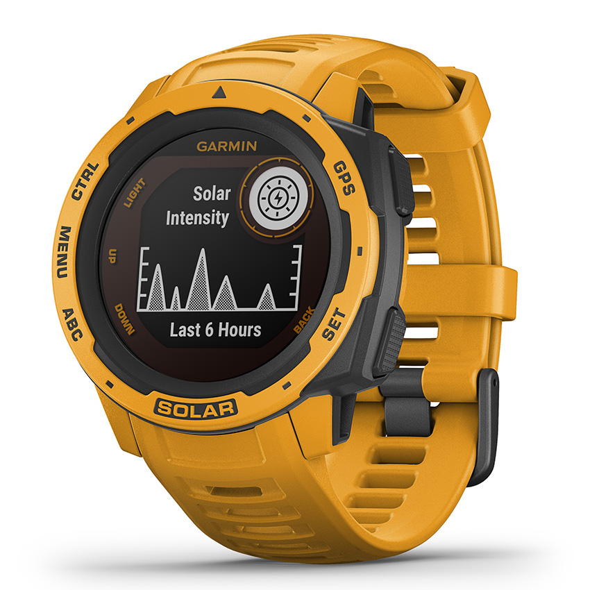 Garmin 010-02293-09 Instinct Smartwatch Solar Sunburst 45 mm