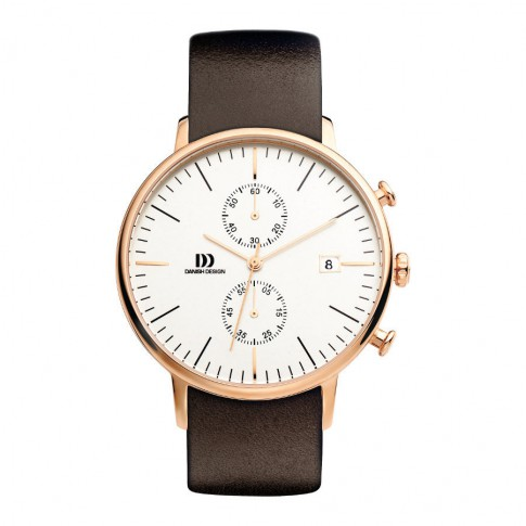 Danish Design Steel HerenHorloge IQ17Q975