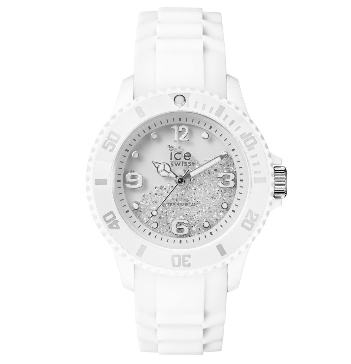 Ice-Watch Ice Swiss Swarovski Medium White