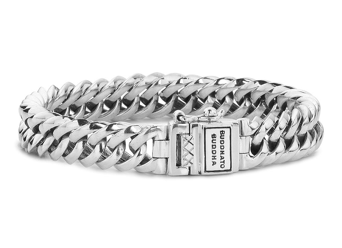 Buddha To Buddha Chain Junior zilveren armband