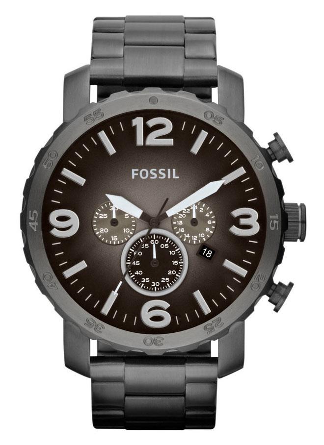 Fossil JR1437 Herenhorloge Nate Chronograaf