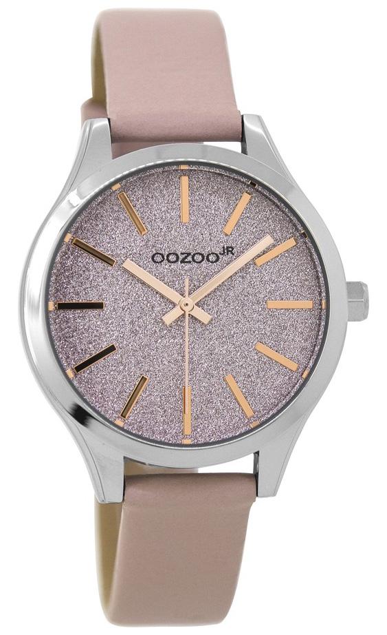 OOZOO JR297 Horloge Junior powderpink rosé 35 mm