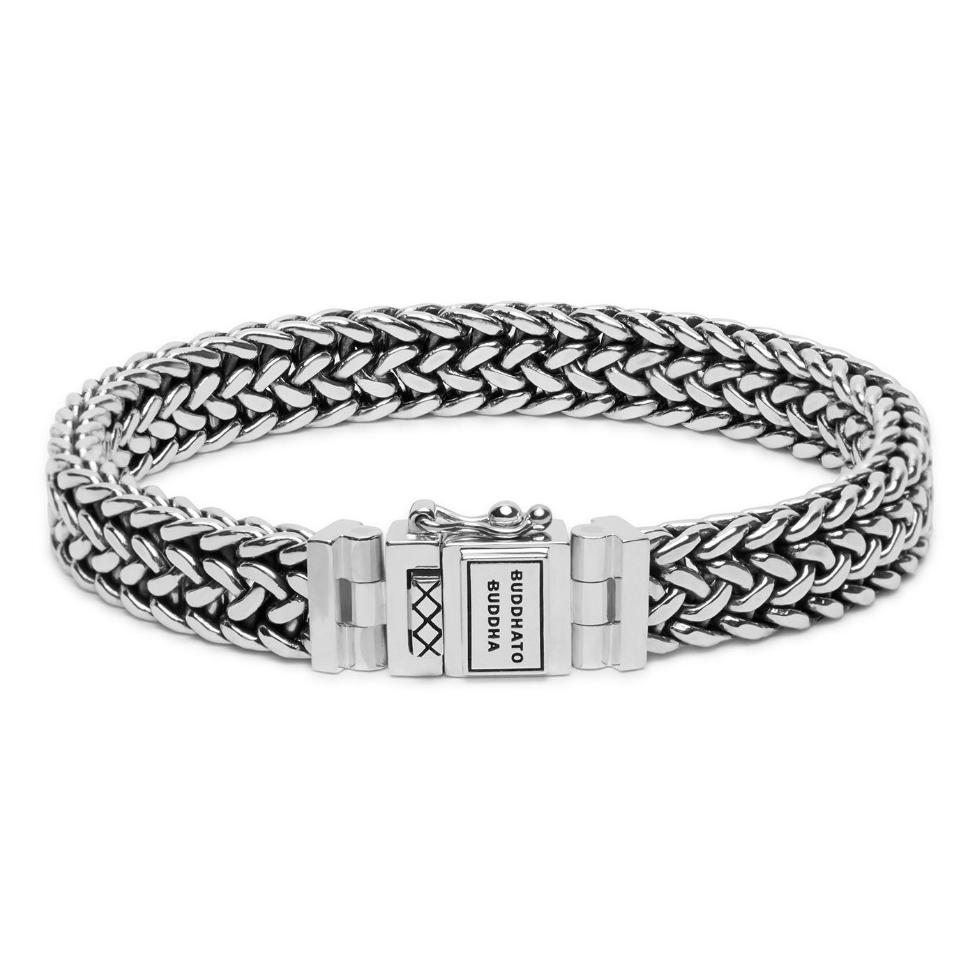 Buddha to Buddha 192 Armband zilver Julius (E) 19 cm