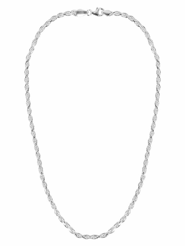 FirstChoice MKK30 Ketting zilver Koord 3,0 mm 16,8 gram 45 cm