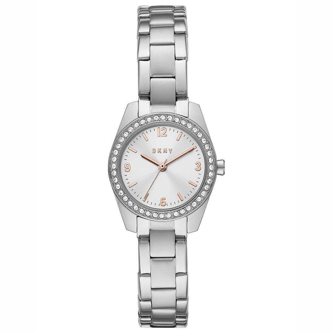 DKNY NY2920 Horloge Nolita staal zilverkleurig 26 mm