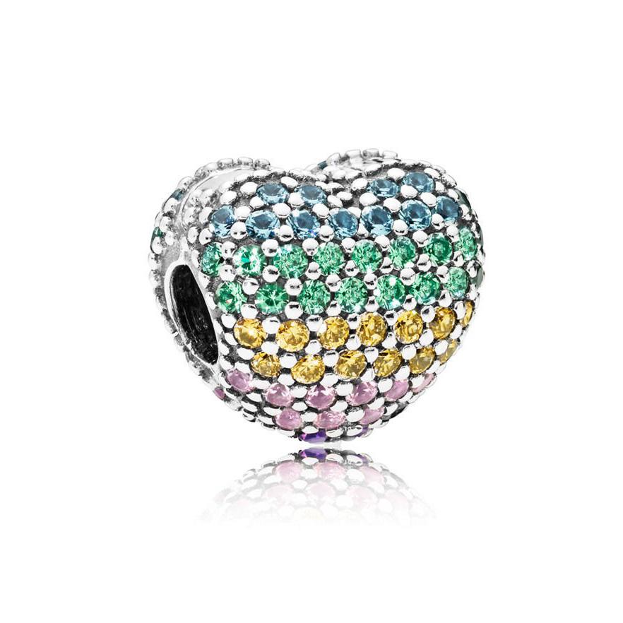 Pandora 797221NRPMX bedel zilver Open My Heart