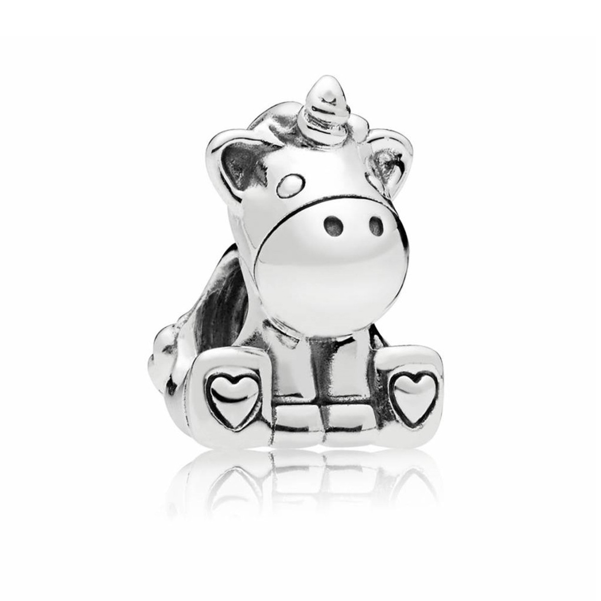 Pandora Bedel zilver Bruno the Unicorn 797609