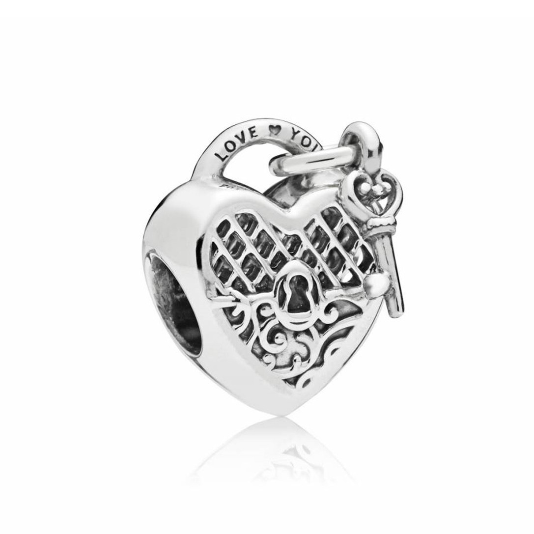 Pandora 797655 Bedel zilver Love You Lock