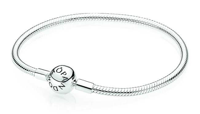 Pandora Armband zilver 21 cm 'Bal-sluiting' 590728