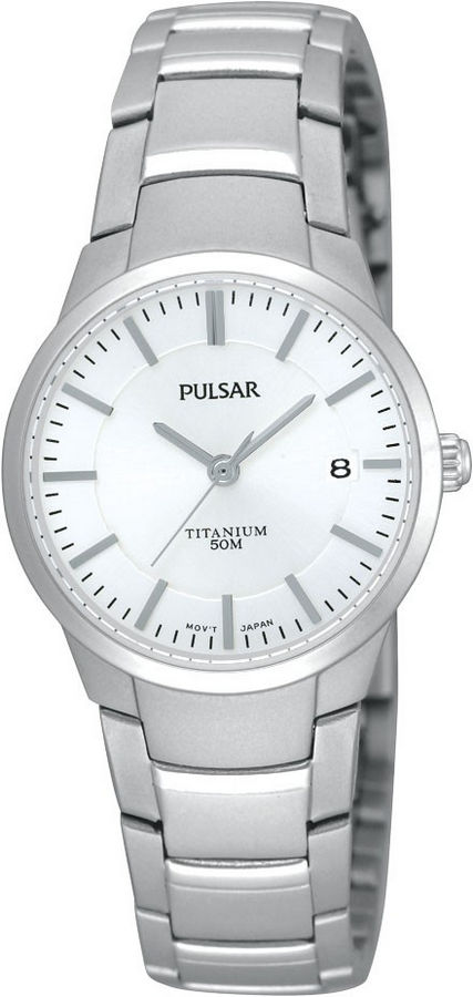 Pulsar PH7129X1 Dameshorloge titanium 26 mm