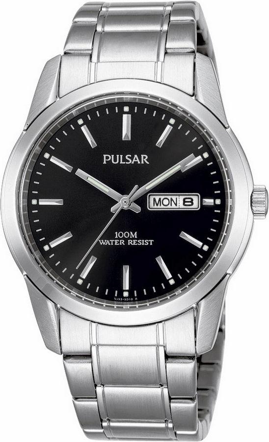 Pulsar Herenhorloge Zilverkleurig PJ6021X1