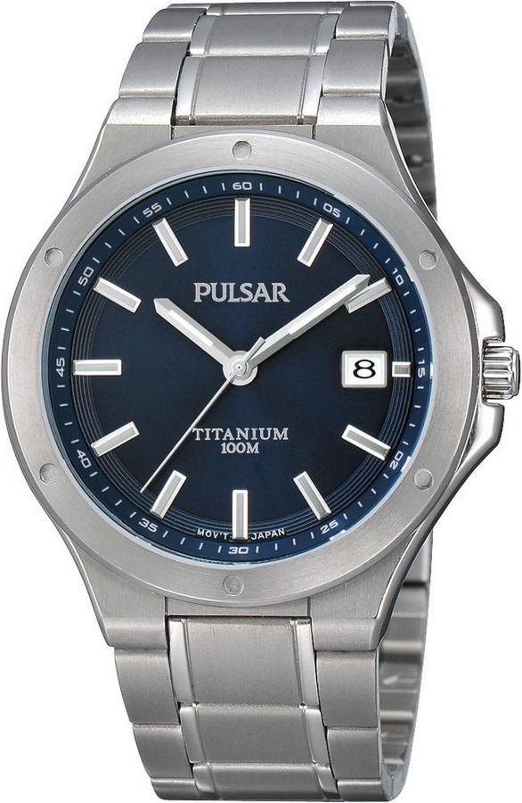 Pulsar Herenhorloge titanium PS9123X1