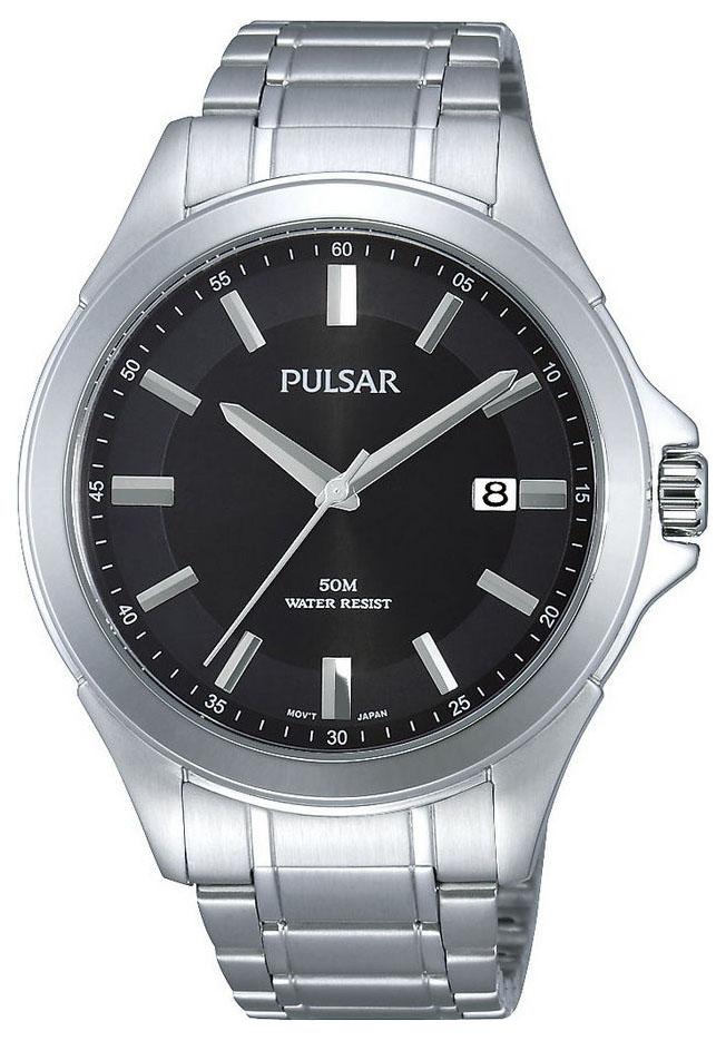 Pulsar Herenhorloge Zilverkleurig PS9309X1