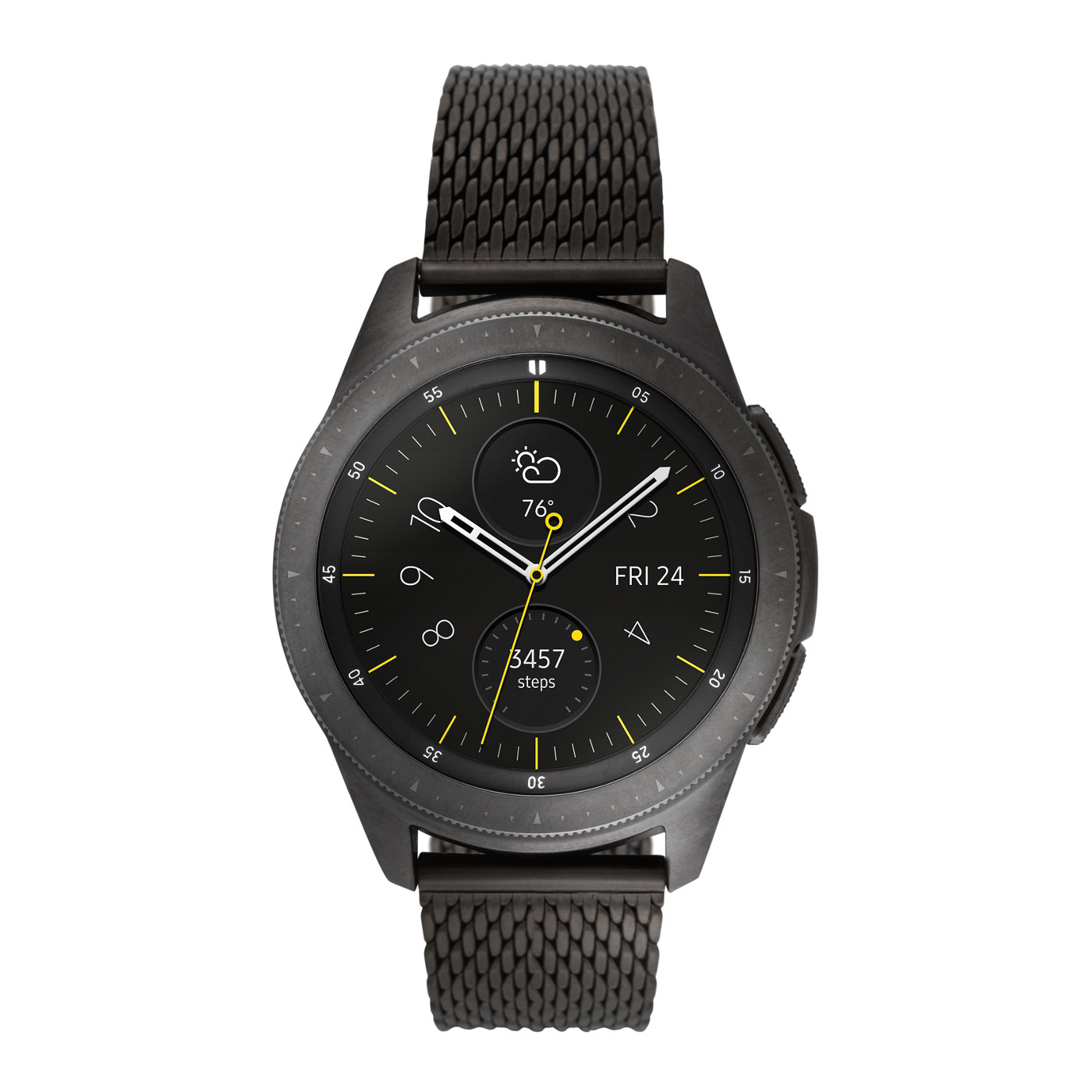 Samsung SA.GAMB S3 Galaxy Smartwatch Special Edition met extra band 42 mm