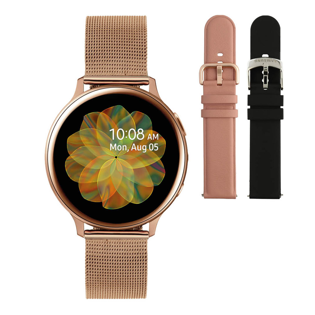 Samsung SA.R830RM Active2 Special Smartwatch rose Milanese band 40 mm