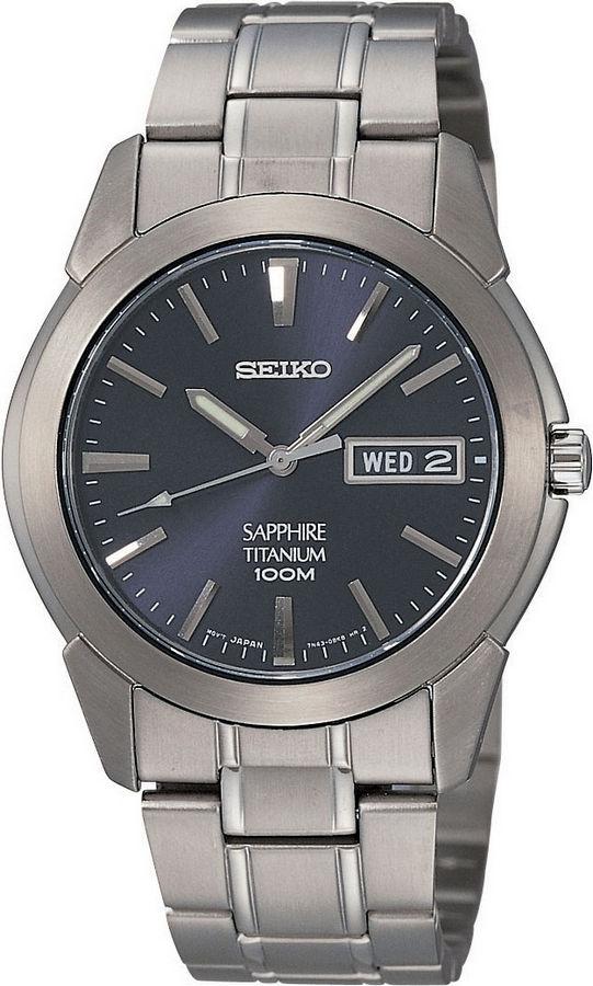 Seiko Herenhorloge titanium SGG729P1