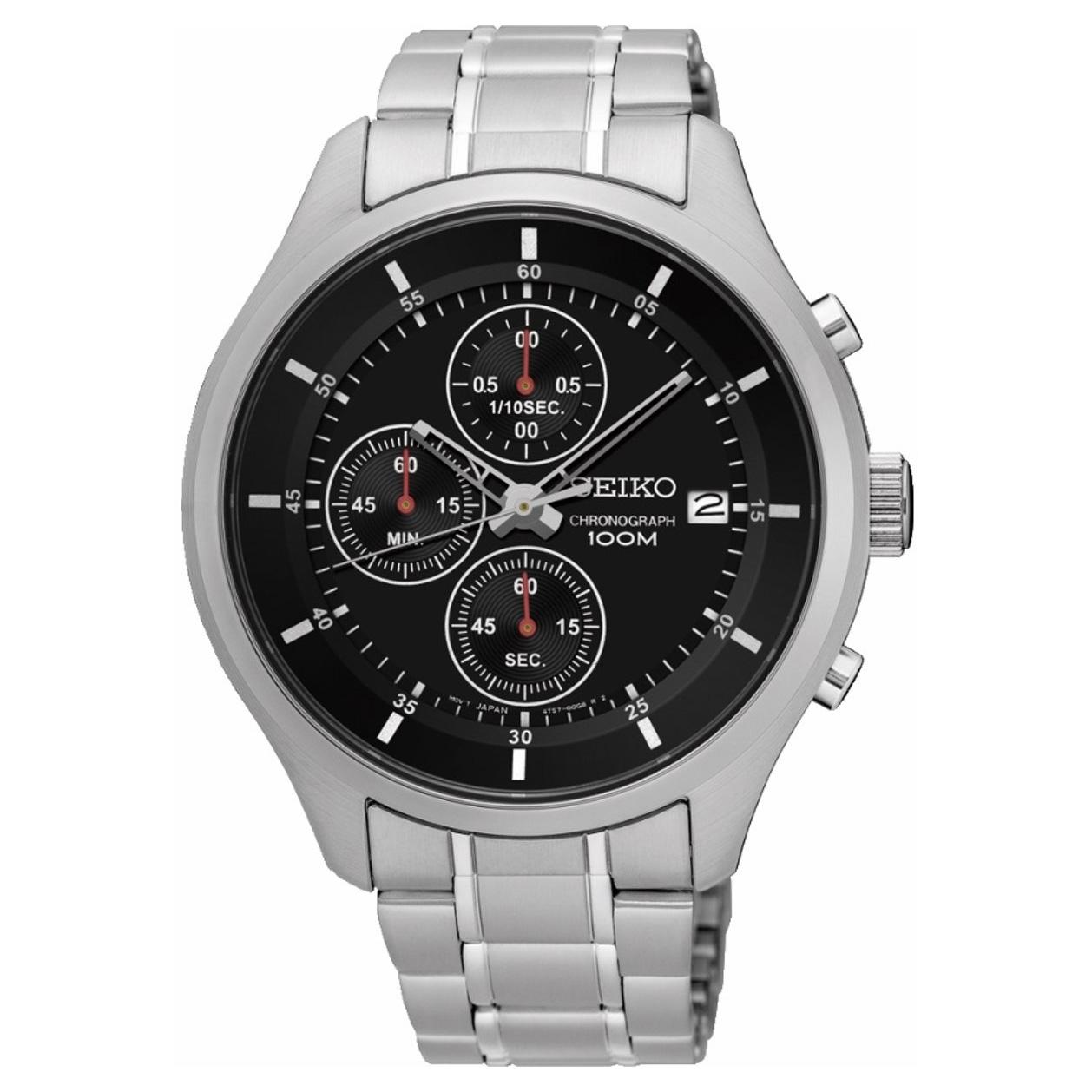 Seiko SKS539P1 Herenhorloge chronograaf Limited Edition staal 43 mm