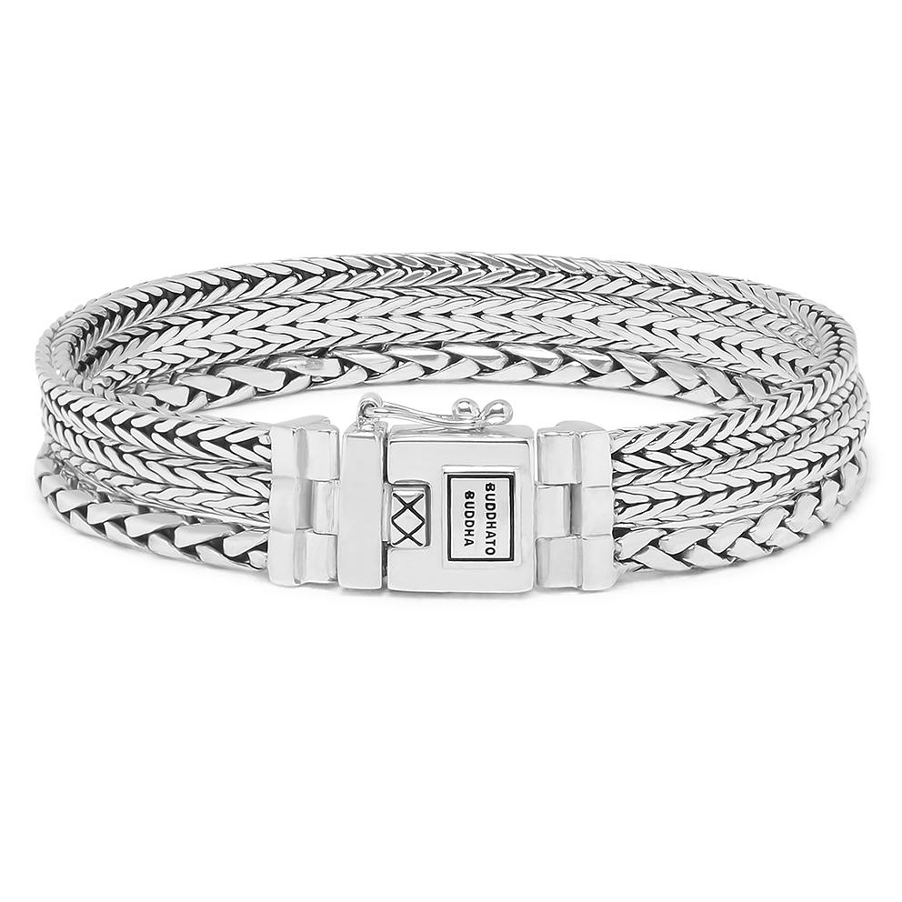 Buddha to Buddha J104 Armband Triple Mini (E) 19 cm