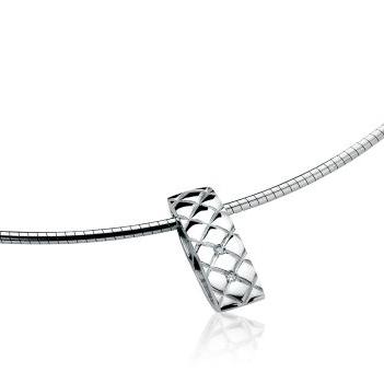 Zinzi Diamonds ZDH48 Hanger Staafje zilver-diamant wit 19,5 x 6 x 6 mm