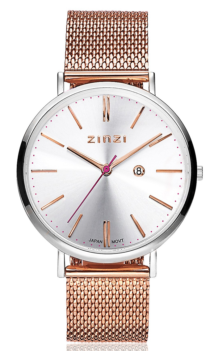 Zinzi horloge Retro + Gratis armband 38 mm ZIW412MR